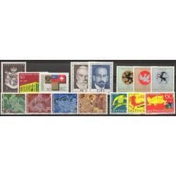 Liechtenstein - Année complète - 1969 - No 454/468