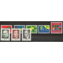 Liechtenstein - Année complète - 1968 - No 446/453