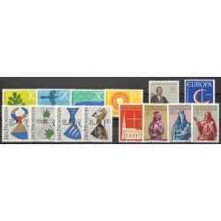 Liechtenstein - Année complète - 1966 - No 408/421