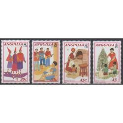 Anguilla - 1993 - No 831/834 - Noël