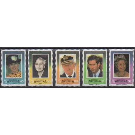 Anguilla - 1994 - Nb 840/844 - Royalty
