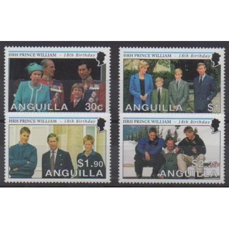 Anguilla - 2000 - Nb 964/967 - Royalty