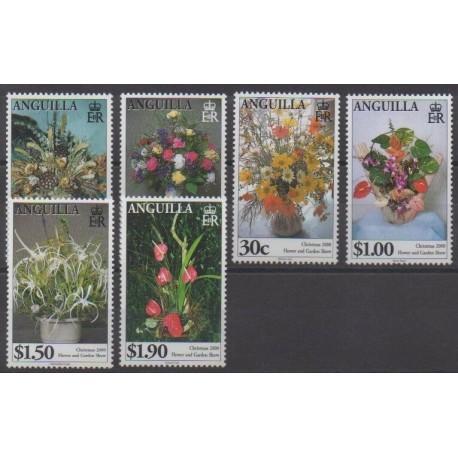 Anguilla - 2000 - Nb 973/978 - Flowers