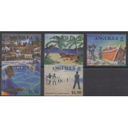 Anguilla - 2000 - No 968/972 - Peinture