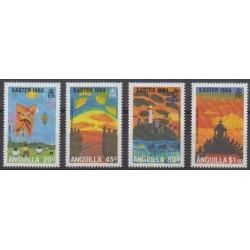 Anguilla - 1993 - No 809/812 - Pâques