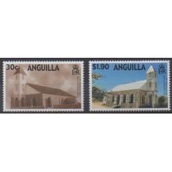 Anguilla - 2000 - No 983/984 - Églises