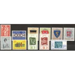 Liechtenstein - Année complète - 1965 - No 397/407