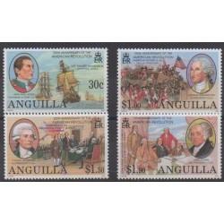 Anguilla - 2001 - No 988/991 - Histoire