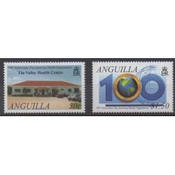Anguilla - 2002 - Nb 1018/1019 - Health