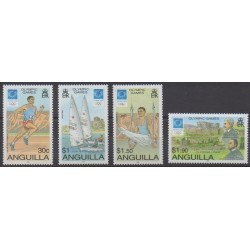 Anguilla - 2004 - Nb 1048/1051 - Summer Olympics