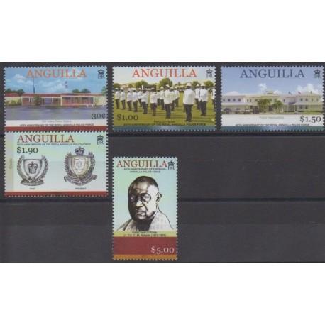 Anguilla - 2012 - Nb 1127/1131