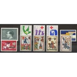 Liechtenstein - Année complète - 1963 - No 377/386
