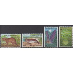 Antigua and Barbuda - 1989 - Nb 1178/1181 - Animals
