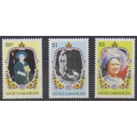 Antigua and Barbuda - 1985 - Nb 852/854 - Royalty