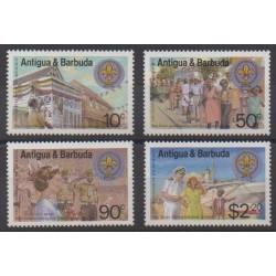 Antigua et Barbuda - 1982 - No 668/671 - Scoutisme