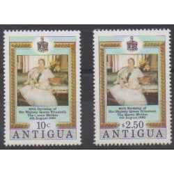 Antigua - 1980 - Nb 586/587 - Royalty