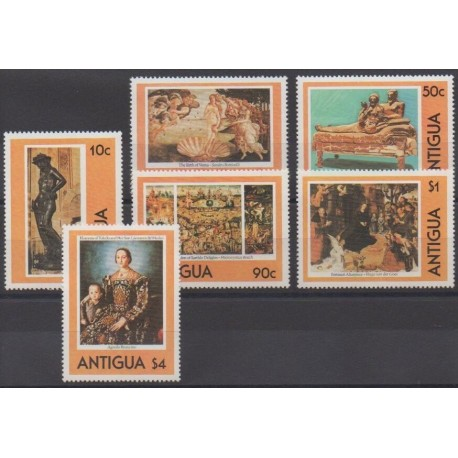 Antigua - 1980 - Nb 576/581 - Art