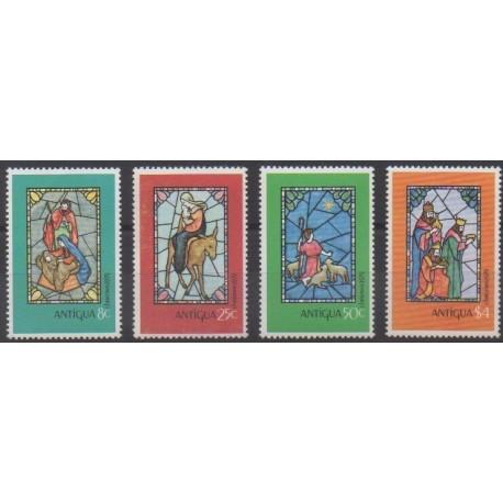 Antigua - 1979 - Nb 555/558 - Christmas