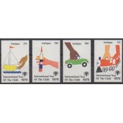 Antigua - 1979 - No 543/546 - Enfance