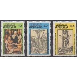 Antigua - 1979 - No 540/542 - Pâques