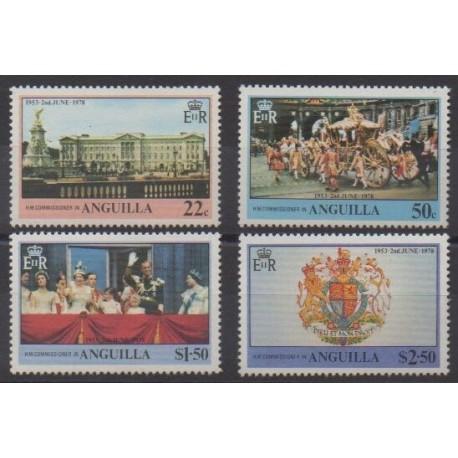 Anguilla - 1978 - Nb 282/285 - Royalty