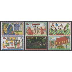 Anguilla - 1978 - Nb 292/297 - Christmas