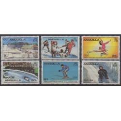 Anguilla - 1980 - Nb 342/347 - Winter Olympics