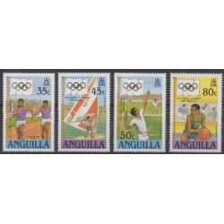 Anguilla - 1988 - Nb 714/717 - Summer Olympics