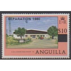 Anguilla - 1980 - Nb 390 - Various Historics Themes