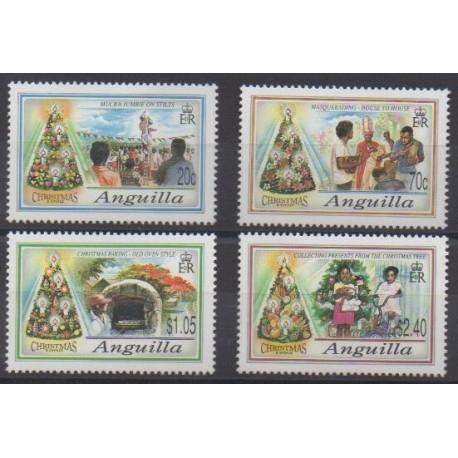 Anguilla - 1992 - Nb 805/808 - Christmas