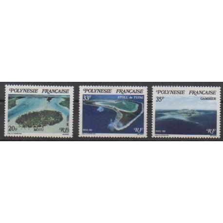 Polynesia - 1982 - Nb 186/188 - Sights