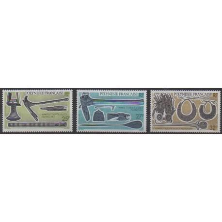 Polynesia - 1987 - Nb 288/290 - Craft