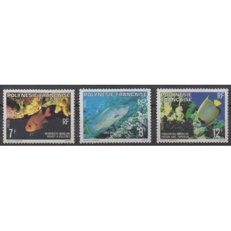 Polynesia - 1980 - Nb 147/149 - Sea life