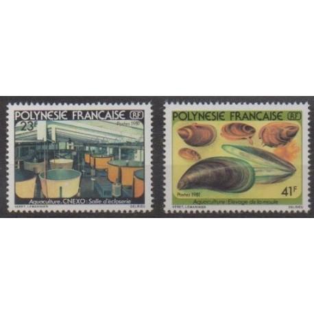 Polynesia - 1981 - Nb 163/164 - Craft