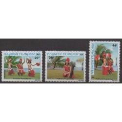 Polynesia - 1981 - Nb 165/167 - Folklore