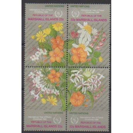 Marshall - 1986 - Nb 128/131 - Flowers