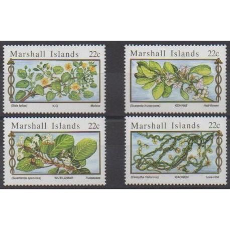 Marshall - 1985 - Nb 105/108 - Flowers