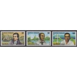 Polynesia - 1988 - Nb 318/320 - Religion