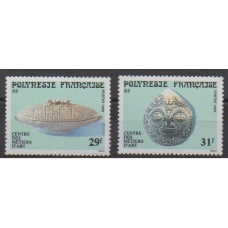 Polynesia - 1989 - Nb 324/325 - Art