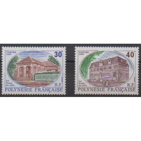 Polynesia - 1988 - Nb 322/323 - Postal Service