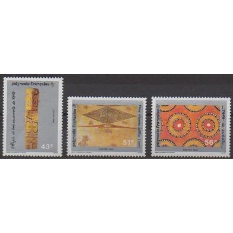 Polynesia - 1989 - Nb 328/330 - Art