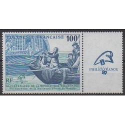Polynesia - 1989 - Nb 336 - French Revolution - Philately
