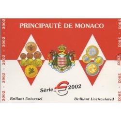 Coin set - Monaco - 2002 - BU