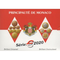 Coin set - Monaco - 2020 - BU