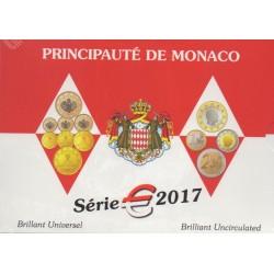 Coin set - Monaco - 2017 - BU