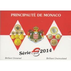 Coin set - Monaco - 2014 - BU