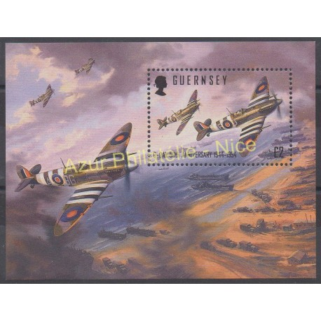 Guernsey - 1994 - Nb BF 26 - Planes