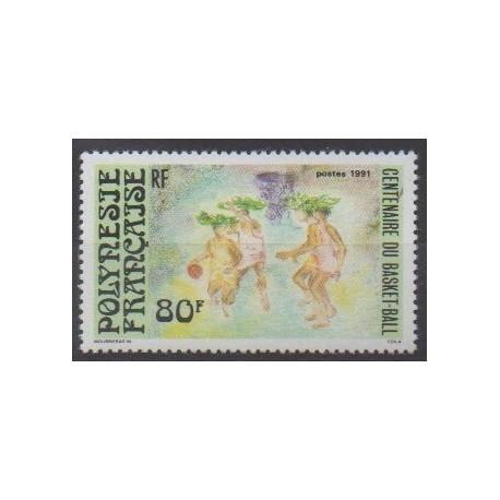 Polynesia - 1991 - Nb 382 - Various sports