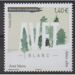 Andorre - 2020 - No 851 - Arbres - Avet blanc