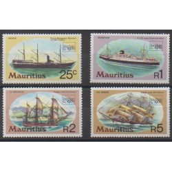 Maurice - 1980 - Nb 506/509 - Boats